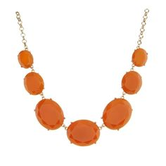 Natasha Accessories Oval Bib Statement Necklace ❤ liked on Polyvore