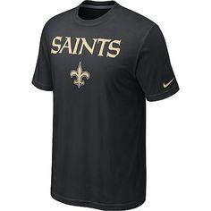 cf51486bd2126 Nike New Orleans Saints Authentic Logo T-Shirt - Team Color - NFLShop.com