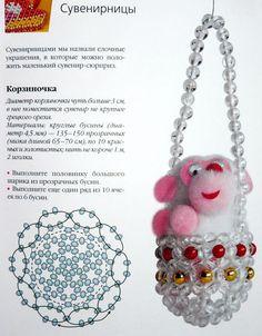 Корзиночка-фуллерен | biser.info - всё о бисере и бисерном творчестве