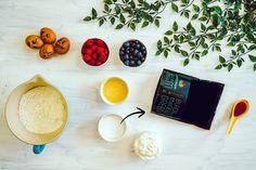Prăjitură pufoasă super rapidă! Fără zahăr! - Secretele Ramonei Bath Caddy, Stevia, Gluten, Diet, Banting, Diets, Per Diem, Food