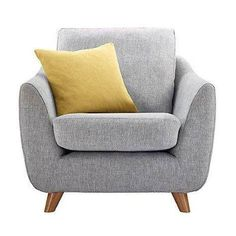 Buy G Plan Vintage The Sixty Seven Armchair, Marl Grey from our Armchairs range at John Lewis. Free Delivery on orders over Living Room Sofa, Interior Design Living Room, Living Room Decor, G Plan Sofa, Sofa Design, Home Furniture, Furniture Chairs, Arm Chairs, Accent Chairs