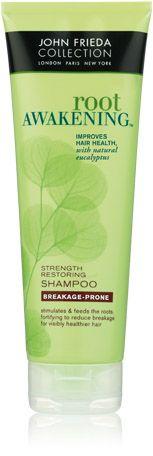 John Frieda Root Awakening Strength Restoring Shampoo for Breakage-Prone Hair...Love it!