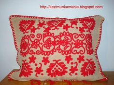 Hungarian Embroidery, Folk Embroidery, Hand Weaving, Unique Gifts, Throw Pillows, Pattern, Handmade, Hungary, Ideas