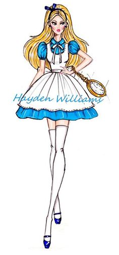 The Disney Diva Princess & Villainess collection by Hayden Williams - Alice