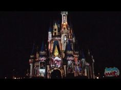 """Magic, Memories, and You!"" projection show on Disney's Cinderella Castle premiere.... A M A Z I N G!!!"