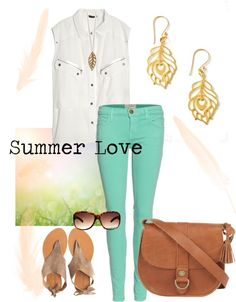 """Summer Love"" by talulahlee on Polyvore"
