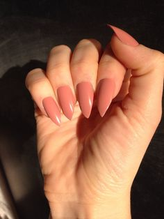 DESCRIPTION: _____________________________________  This listing is for a set of 10 peach made-to-order nails, shape and finish of your choice