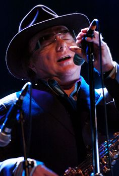 Van Morrison. Seen him twice in person~Hollywood Bowl, The Hard Rock Cafe/Vegas. Brilliant singer/songwriter!