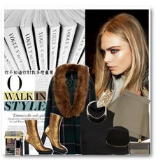 """Gold boots."" by shadowofday on Polyvore"