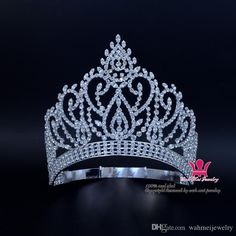 Beauty Pageant Award Gold Contoured Adjustable Crown And Tiara Rhinestone Crystal Bridal Wedding Hair Jewelry Classic Silver Gold Mo023 Wedding Flower Headbands Wedding Flowers For Hair From Wahmeijewelry, $38.2| Dhgate.Com