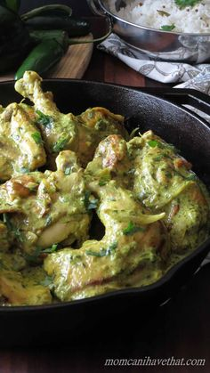 With a few tweaks, this recipe for Bangalore Chicken is now low carb and ready in 30 minutes!   low carb, dairy-free, gluten-free, Paleo, keto, thm-s   momcanihavethat.com