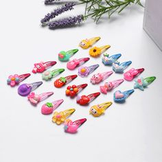 10Pcs/Lot Mix Color Styles Flower Cartoon Assorted Lovely Kids Girls Hair Pin Clips Barrettes Hair Accessories Jewelry-in Hair Accessories from Mother & Kids on Aliexpress.com | Alibaba Group Girls Formal Dresses, Lace Party Dresses, Pink Kids, Kids Girls, Christening Gowns Girls, Baby Girl Princess, Fashion Leaders, Baby Girl Romper, Lace Flowers