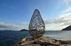 I love eco blog, land art, karin van der molen, environmental art