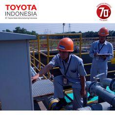 TMMIN memiliki sistem pengelolaan limbah yang modern dan fasilitas laboratorium yang memadai untuk menjaga kualitas limbah dan memastikan bahwa limbah dan air limbah telah memenuhi standar kualitas yang telah ditetapkan pemerintah #TMMIN #ToyotaIndonesia