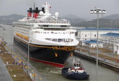 Disney Wonder Becomes First Cruise Ship to Cross Widened Panama Canal