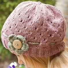 Vintage Sweet Hat free Knitting Pattern