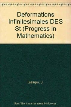 9780817632601: Deformations Infinitesimales des Structures Conforms Plates (Progress in Mathematics)