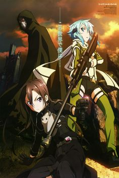 Sword Art Online - Gun Gale Online Kirito & Asuna