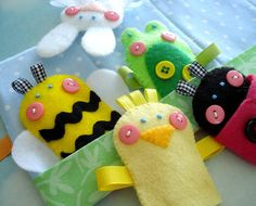 Looking for your next project? You're going to love Spring Felt Finger Puppets by designer Precious Patts.