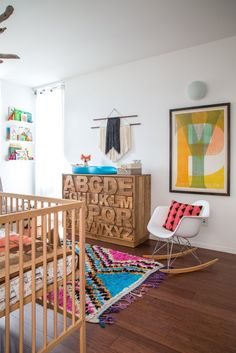 Marlowe's Southern California Roots — Nursery Tour | Apartment Therapy