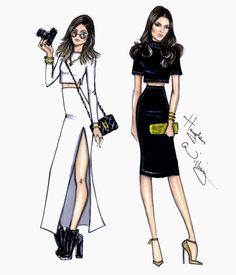Kylie & Kendall by Hayden Williams