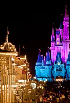 Night on Main Street, USA at the Magic Kingdom