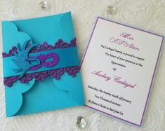 This is a really beautiful Invitation ideal to your next sweetsixteen, quinceañera or Special Occasion, the invitation can be in any color according to you event Laser Cut Invitation, Pink Invitations, Invitation Design, Beautiful Mask, Beautiful Hands, Under The Sea Theme, Bridal, Quinceanera, Laser Cutting
