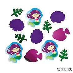 Mermaid Party Confetti - Oriental Trading
