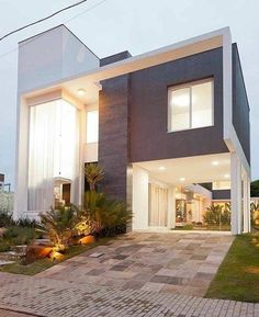 Casa AP+VP : Casas modernas por ANDRÉ PACHECO ARQUITETURA