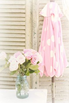 polka dots and roses by lucia and mapp, via Flickr
