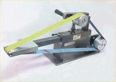 CNCCookbook: Belt Grinder Ideas Small wheel for finger grooves