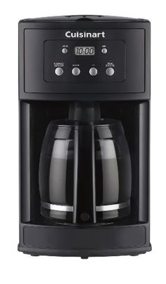 Cuisinart 12 Cup Programmable Coffeemaker Certified Refurbished Black     Details Can Be Found By Clicking On The Image.