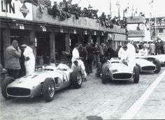 ??? 1955 ♦ The nearly unbeatable Mercedes-Benz W196 Team.
