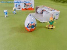 Surprise Eggs Unboxing Stop Motion Animation Magic Toys Cars Smurfs 2