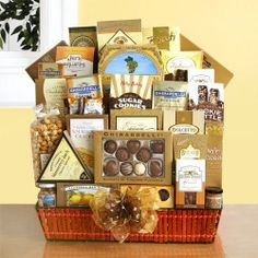 The Grand Gathering Ultimate Gourmet Food and Snacks Gift Basket