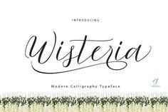 Wisteria Script by G