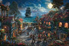 Thomas Kincade Pirates of the Caribbean