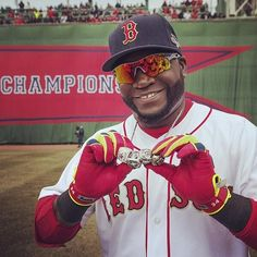 Big Papi and his bling