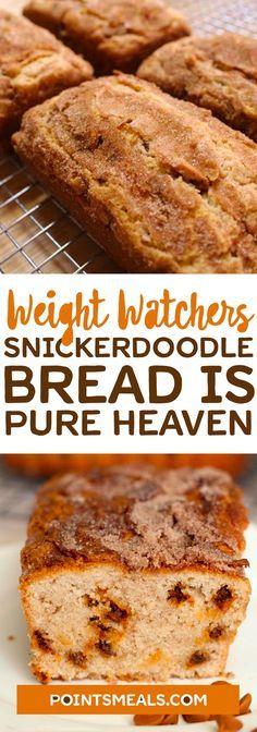 SNICKERDOODLE BREAD IS PURE HEAVEN #weight_watchers