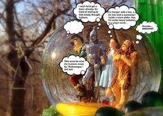 Wizard Of Oz Humor II by Aurelio Zucco