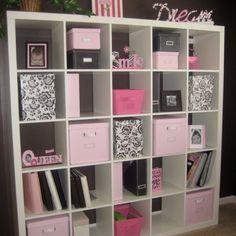 cute idea for craft room organizing