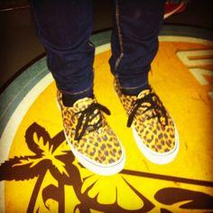 """Vans Authentic """"leopard print"""""""