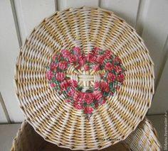 """Корзины, коробы ручной работы. Ярмарка Мастеров - ручная работа Шкатулка """"Розовое сердце"""". Handmade."""