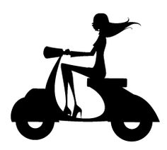This would be me if i ever get my vespa
