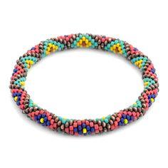 Diamondback Bangle Bracelet | Fusion Beads Inspiration Gallery
