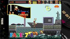 The Revenge of Shinobi (Mega Drive) Gameplay Fase 7-1