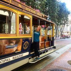 Cable Car San Francisco  #cablecar #car #sanfrancisco2016 #sanfrancisco #old #symbol #tourist #sf #cali #california #usa #us #exchangestudent #spring2016 by h.knapcokova