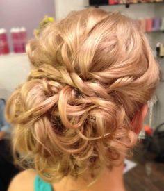 wedding hair, bridesmaid hair, special occasion, updo