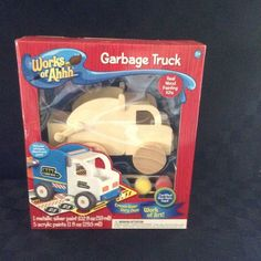 NIB Masterpiece Works Of Ahhh Dump Truck Painting Kit Arts Crafts Kids Paint #MasterPieces