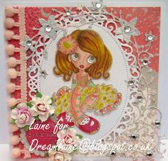 85 Dream Laine: Violet from Saturated Canary for Totally Papercrafts Challenge